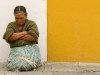 Antigua Guatemala - Sitting Woman